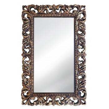 Зеркало настенное в раме «Анника» Венге/золото