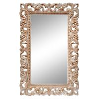 Зеркало настенное в раме «Анника» Слоновая кость/золото/патина