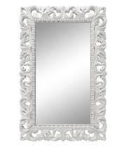 Зеркало настенное в белой раме «Анника» Белый глянец