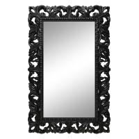 Зеркало настенное в чёрной раме «Анника» Чёрный глянец