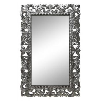 Зеркало настенное в серебряной раме «Анника» Серебро хром