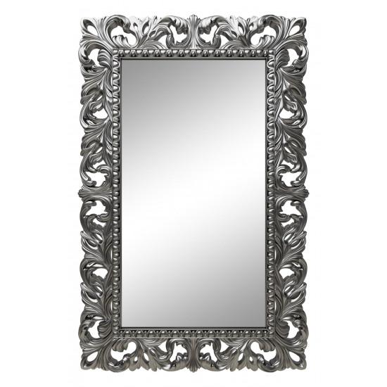 Зеркало настенное в серебряной раме «Анника» Серебро хром в интернет-магазине ROSESTAR фото