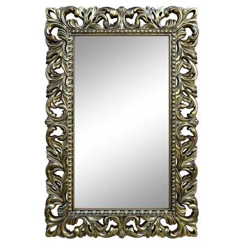 Зеркало настенное в бронзовой раме «Анника» Бронза/чёрная патина