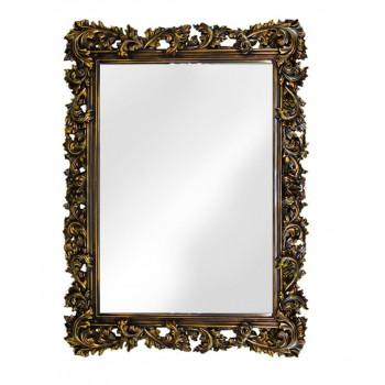 Зеркало настенное в раме «Фрея» Венге/золото