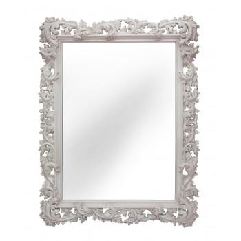 Зеркало настенное в раме «Фрея» Слоновая кость/патина