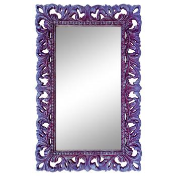 Зеркало настенное в сиреневой раме «Отталиа» Сирень/серебро