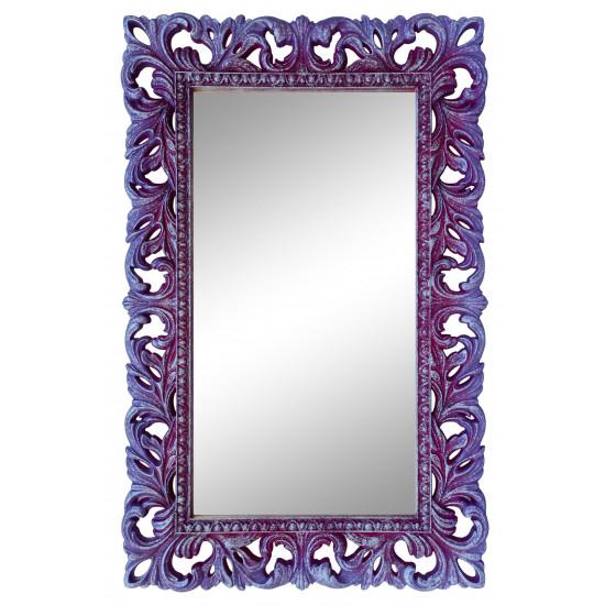 Зеркало настенное в сиреневой раме «Отталиа» Сирень/серебро в интернет-магазине ROSESTAR фото