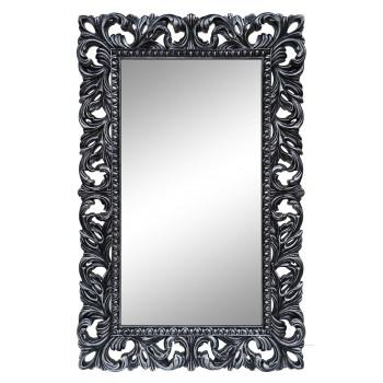 Зеркало настенное в чёрной раме «Отталиа» Чёрный/серебро