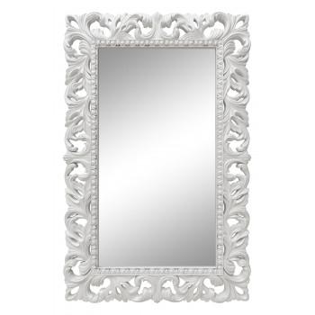 Зеркало настенное в белой раме «Отталиа» Белый глянец