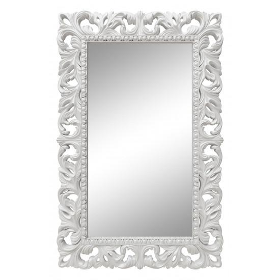 Зеркало настенное в белой раме «Отталиа» Белый глянец в интернет-магазине ROSESTAR фото