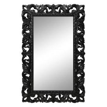 Зеркало настенное в чёрной раме «Отталиа» Чёрный глянец