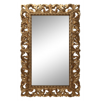 Зеркало настенное в золотой раме «Отталиа» Золото королевское