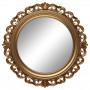 Круглое настенное зеркало в золотой раме «Фроуд» Золото в интернет-магазине ROSESTAR фото