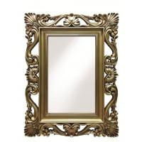 Зеркало настенное в раме «Дэгни» Золотистый орех
