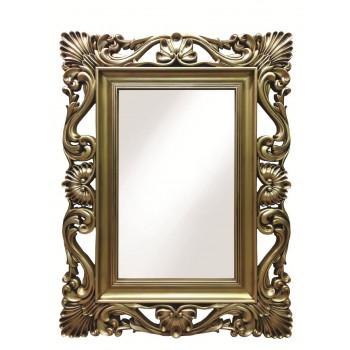 Зеркало настенное в золотой раме «Дэгни» Золото/патина