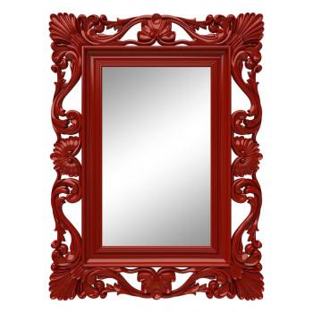 Зеркало настенное в красной раме «Дэгни» Красное