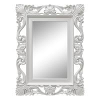 Зеркало настенное в белой раме «Дэгни» Белый глянец