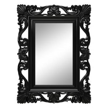 Зеркало настенное в чёрной раме «Дэгни» Чёрный глянец