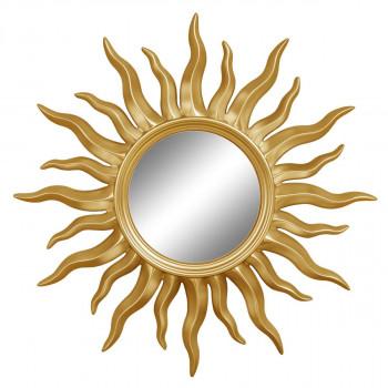Зеркало солнце «Руна» лучи цвета Золото королевское