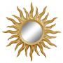 Зеркало солнце «Руна» лучи цвета Золото королевское в интернет-магазине ROSESTAR фото