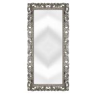 Зеркало напольное большое в серебряной раме «Отталиа» Серебро/патина