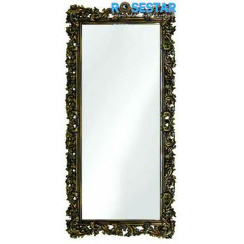 Зеркало напольное большое в раме «Фрея» Венге/золото