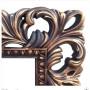 Зеркало напольное и настенное большое в полный рост в раме «Отталиа» Венге/золото в интернет-магазине ROSESTAR фото 1