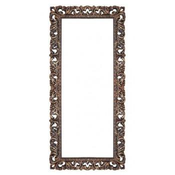 Зеркало напольное и настенное большое в полный рост в раме «Отталиа» Венге/золото