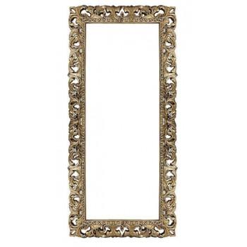 Зеркало напольное и настенное большое в полный рост в раме «Отталиа» Венге/золото/поталь