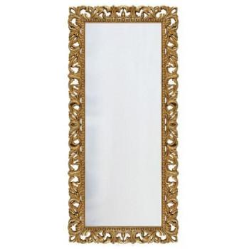 Зеркало напольное и настенное большое в полный рост в раме «Отталиа» Золото/патина