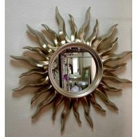 Зеркало солнце настенное «Руна» Шампань