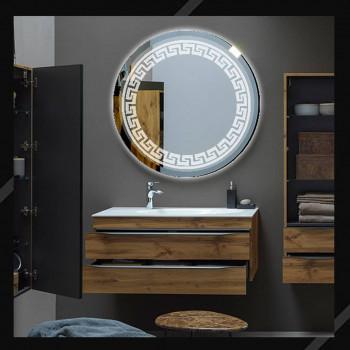 Круглое зеркало с LED подсветкой Meander (Меандр)
