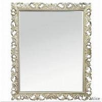 Зеркало настенное в раме  Alice Шампань