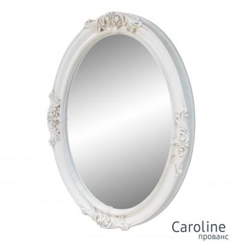 Овальное настенное зеркало в раме прованс Caroline Provence