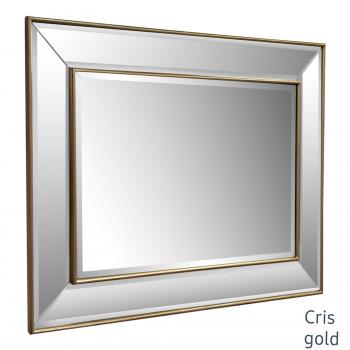 Зеркало в раме Cris Античное золото
