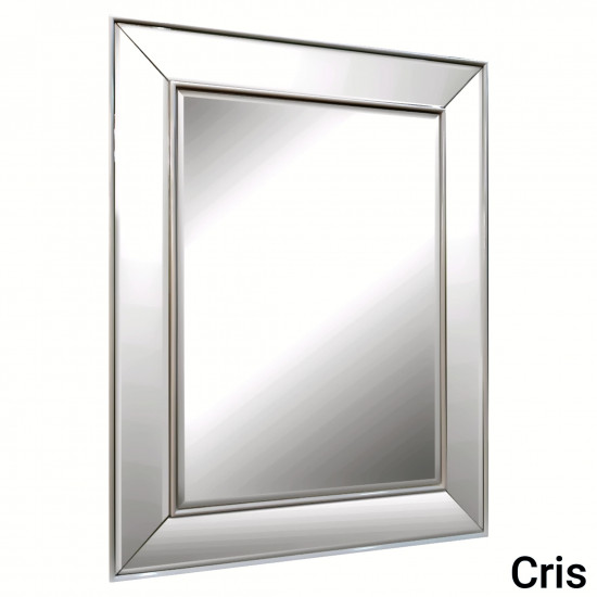 Зеркало в зеркальной раме Cris Античное серебро в интернет-магазине ROSESTAR фото