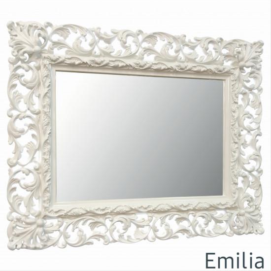 Зеркало настенное в раме Emilia Слоновая кость в интернет-магазине ROSESTAR фото