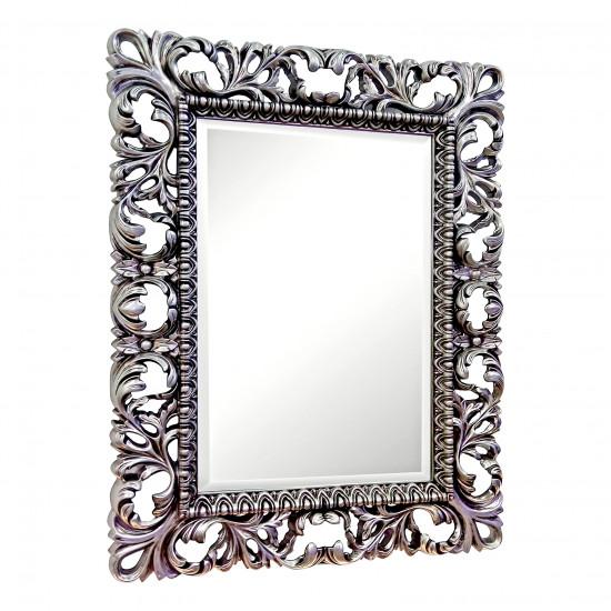Зеркало в раме Iren Чернёное серебро в интернет-магазине ROSESTAR фото