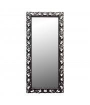 Большое напольное и настенное зеркало в полный рост «Мигель» Чернёное серебро