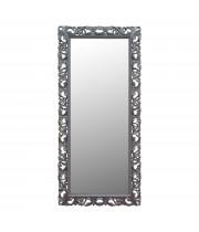 Большое напольное и настенное зеркало в полный рост «Мигель» Серебро