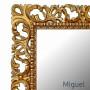 Большое напольное и настенное зеркало в полный рост «Мигель» Золото в интернет-магазине ROSESTAR фото 1
