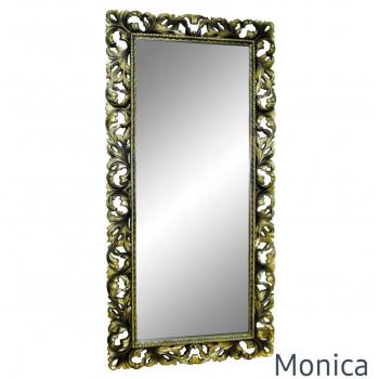 Зеркало большое напольное и настенное в раме Monica Венге шапань