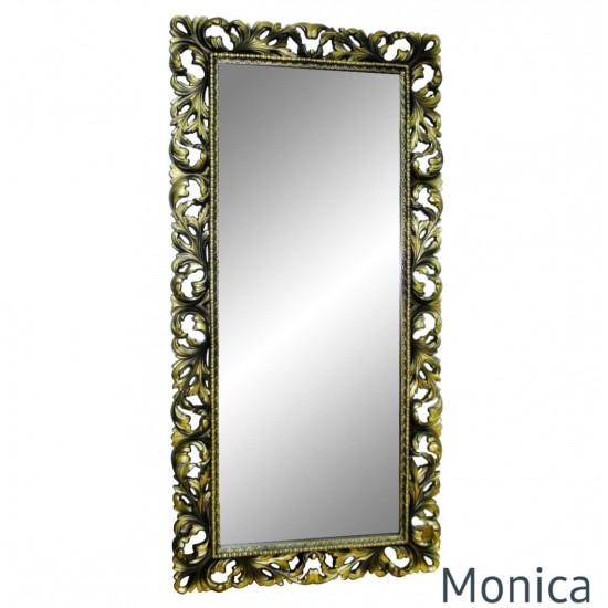 Зеркало большое напольное и настенное в раме Monica Венге шапань в интернет-магазине ROSESTAR фото