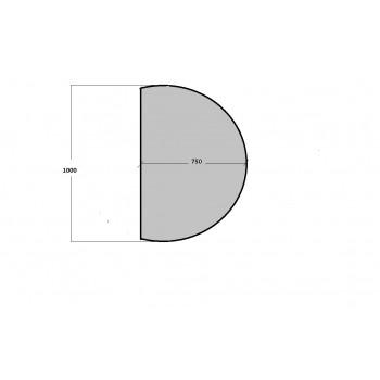 Зеркало с подсветкой Сансет-Р 75х100 см