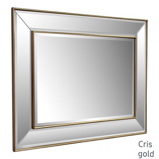 Зеркало в зеркальной золотой раме Cris Gold в интернет-магазине ROSESTAR фото
