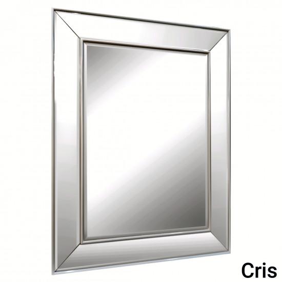 Зеркало в зеркальной серебряной раме Cris Silver в интернет-магазине ROSESTAR фото