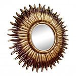 Зеркала в коричневой раме