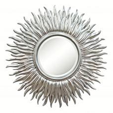 Зеркало серебряное в виде солнца «Джейн» Серебро