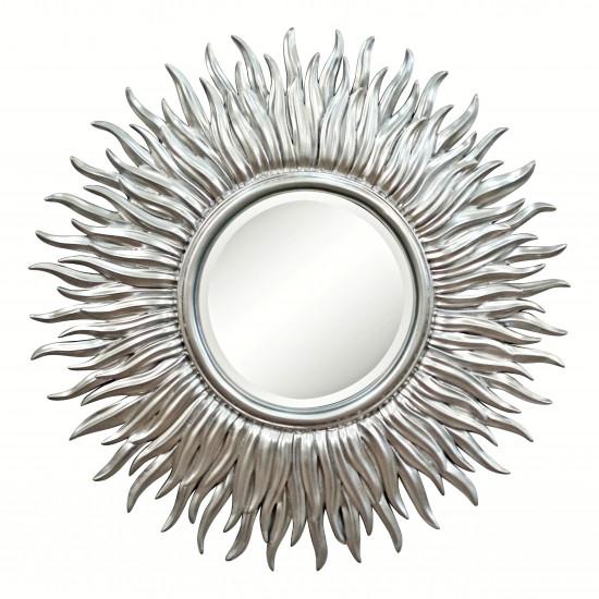 Зеркало серебряное в виде солнца «Джейн» Серебро в интернет-магазине ROSESTAR фото