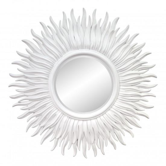 Зеркало в виде солнца «Джейн» Белое в интернет-магазине ROSESTAR фото